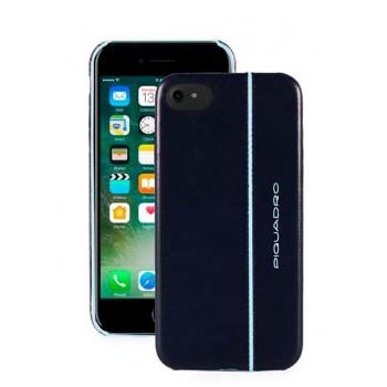 Чехол для iPhone Piquadro Blue Square (B2) AC3214B2_BLU2