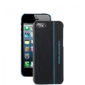 Кейс Piquadro Пиквадро Blue Square для iPhone 5 Черный цвет. Артикул AC3053B2/N (6x12,5x1)см