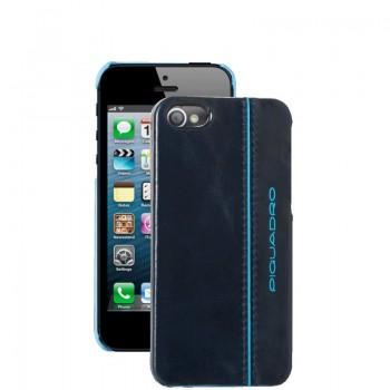 Кейс Piquadro Пиквадро Blue Square для iPhone 5 тёмно-синий Артикул AC3053B2/BLU2 (6x12,5x1)см