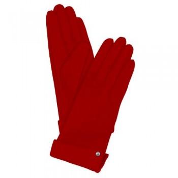 Кож.перчатки Piquadro Пиквадро Guanti 4 жен. с кнопкой красные разм.M Артикул GU2367G4/R-M