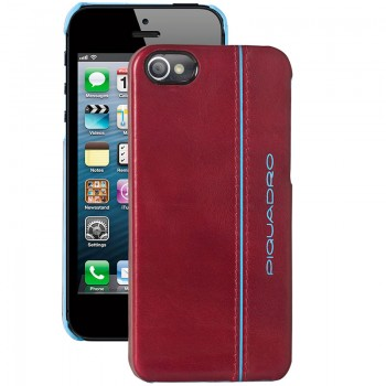 Кейс Piquadro Blue Square для iPhone 5 красный цвет. Артикул AC3053B2_R