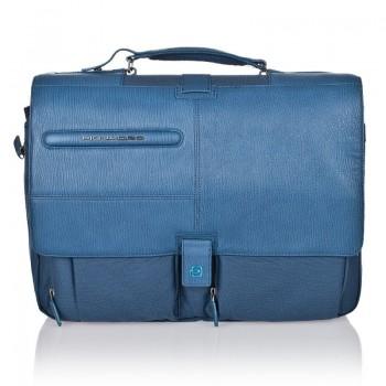 Портфель Piquadro SIGNO с отделением и чехлом для ноутбука (39,5x31x11)
