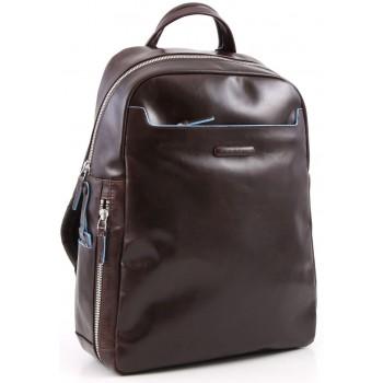 Рюкзак Piquadro Blue Square с отдел. для ноутбука коньячного цвета (27,5x38x10,5)