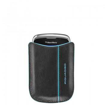 Чехол Piquadro Blue Square для моб.тел. BlackBerry (B2) 8x10.5x1.5 см