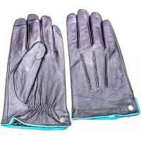 Кожаные перчатки Piquadro GUANTI 7/Brown XL муж. с вставками для сенс. экранов