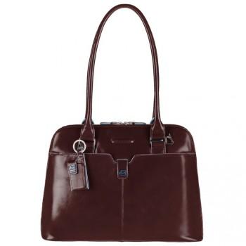 Сумка женская Piquadro BL SQUARE/Cognac двуручная с отдел. д/ноутбука 12  BD2760B2_MO