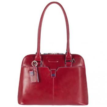 Сумка женская Piquadro BL SQUARE/Red двуручная с отдел. д/ноутбука 12 BD2760B2_R
