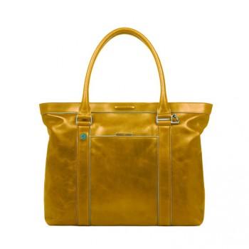 Сумка женская Piquadro BL SQUARE/Yellow двуручн. с отдел. д/ноутбука/iPad/iPad Air BD3145B2_G