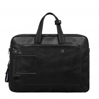 Портфель Piquadro VIBE/Black с отдел. для iPad/iPad Air с двумя ручками CA3147VI_N