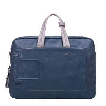 Портфель Piquadro VIBE/Blue-Grey с отдел. для iPad/iPad Air с двумя ручками CA3147VI_BGR