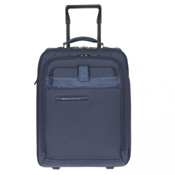 Чемодан Piquadro SIGNO/Bk.Blue на 2 колесах + чехол д/ноутбука (31,7л) BV2964SI_AV