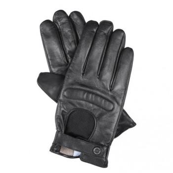 Перчатки Piquadro GUANTI 5/Black L Кож. муж. с ткан. вставкой GU2618G5_N-L