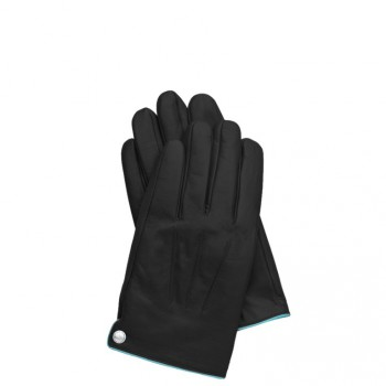 Перчатки Piquadro GUANTI 6/Black M Кож. муж. на кнопке GU2828G6_N-M