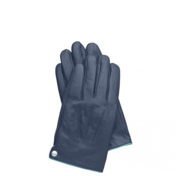 Перчатки Piquadro GUANTI 6/Blue L Кож. муж. на кнопке GU2828G6_BLU-L
