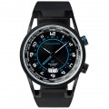 Часы Piquadro WWWATCH/Black муж/кварц/GMT/черн/рез.черн /50м/ST/PVD OR1003WW