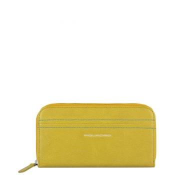 Портмоне Piquadro DENEB/Yellow жен. на молнии PD1515S72_G