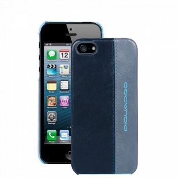 Кейс для iPhone 5 Piquadro BL SQUARE/Blue-Grey  AC3053B2_BGR