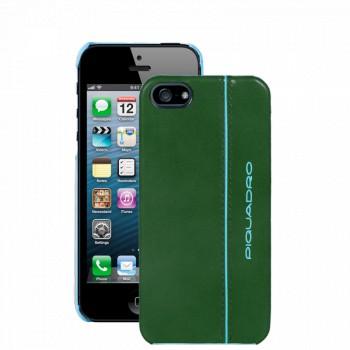 Кейс для iPhone 5 Piquadro BL SQUARE/F.Green  AC3053B2_VE4