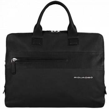Портфель Piquadro LASZLO/Black на 3 отдел. с отдел. д/ноутбука/iPad/iPad Air CA3184W64_N