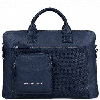 Портфель Piquadro LASZLO/Blue на 3 отдел. с отдел. д/ноутбука CA3133W64_BLU
