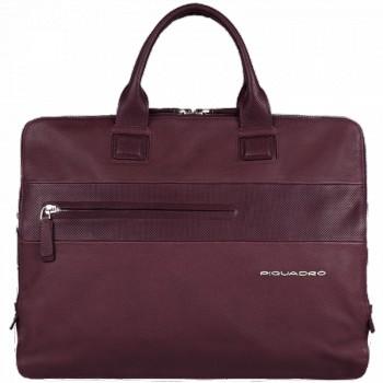 Портфель Piquadro LASZLO/Purple на 3 отдел. с отдел. д/ноутбука/iPad/iPad Air CA3184W64_VI