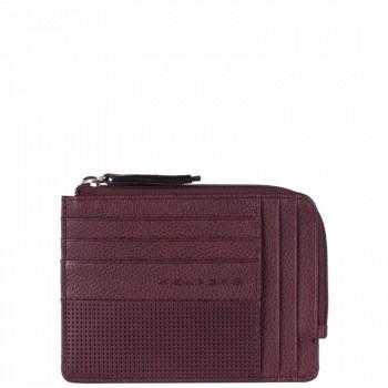 Кредитница Piquadro LASZLO/Purple с отдел. на молнии PU1243W64_VI