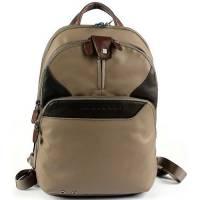 Рюкзак Piquadro COLEOS/Taupe складной с отдел. для iPad с чехлом и накидкой  CA2944OS_TO