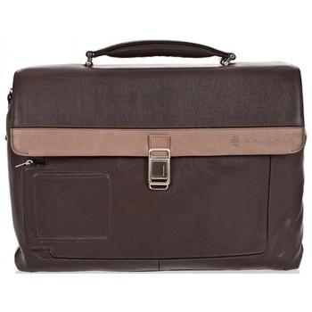 Портфель Piquadro VIBE/Grey-Taupe на 2 отдел. с фронт. карманом и с отдел. д/ноутбука CA1045VI_GRTO