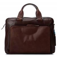 Портфель Piquadro EUCLIDE/Brown двуручн. с отдел. д/ноутбука/iPad/iPad Air CA3300S73_M