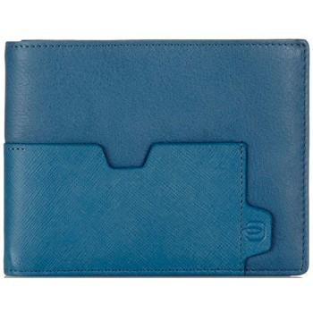 Портмоне Piquadro EUCLIDE/Blue с отдел. для 12 кред. карт PU1241S73_BLU
