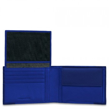 Портмоне PIQUADRO PULSE/Blue PU1392P15_BLU