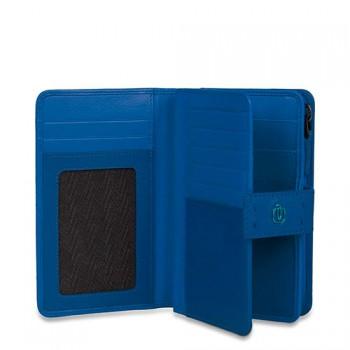 Портмоне PIQUADRO PULSE/Blue PD1353P15_BLU