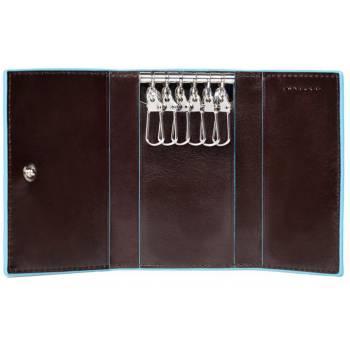 Ключница Piquadro BL SQUARE/Cognac PC1396B2_MO