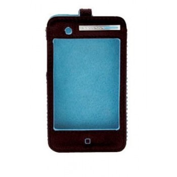 Чехол iPhone 4 Piquadro Blue Square AC2250B2_N (6,7х12х1,5)