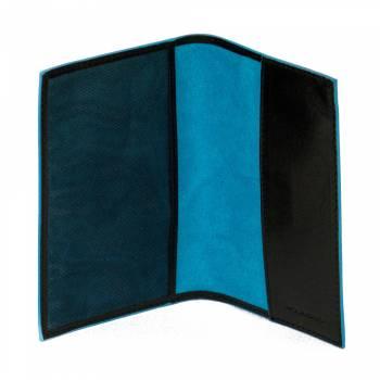 Обложка для паспорта Piquadro BL SQUARE/Black  AS300B2_N