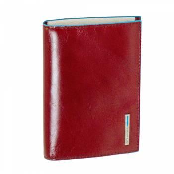 Обложка для паспорта Piquadro BL SQUARE/Red  AS300B2_R