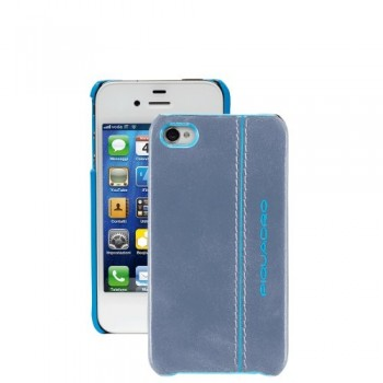 Чехол iPhone 4 Piquadro Blue Square (6x11,5x1)
