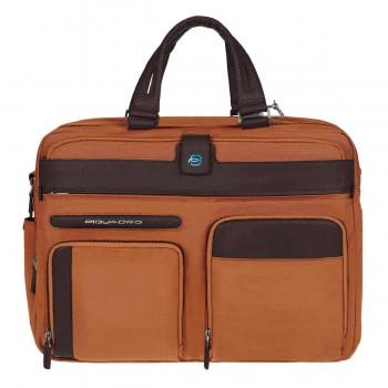 Портфель Piquadro SIGNO двуручный с отделением и чехлом для iPad / ноутбука (41x30,5x12)