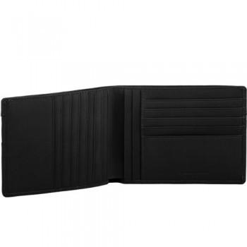 Портмоне Piquadro Galileo/Black с отделением для 12 кред. карт