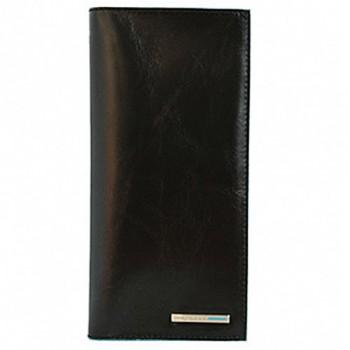 Портмоне Piquadro Blue Square/Black с отделением д/кредитных карт AS341B2_N