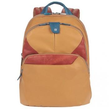 Рюкзак Piquadro COLEOS/Yellow складной с отдел. для iPad с чехлом и накидкой  CA2944OS_G