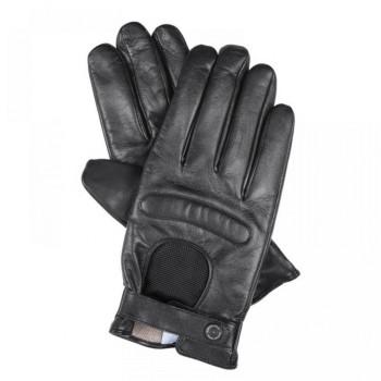 Перчатки Piquadro GUANTI 5/Black M Кож. муж. с ткан. вставкой GU2618G5_N-M
