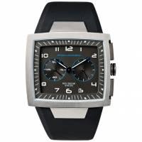 Часы Piquadro WWWATCH/Grey муж/кварц/хроно/сер/рез.черн /50м/ST OR1008WW
