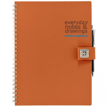 Блокнот Piquadro STATIONERY/Orange A5 на кольцах (70стр)  AR826P3_AR