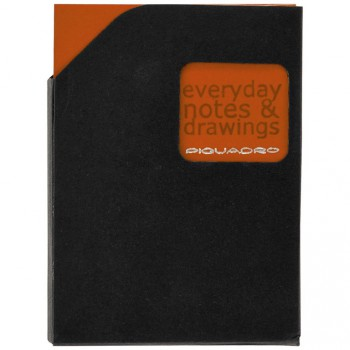 Блокнот Piquadro STATIONERY/Orange A6 (40стр) в кож. чехле  AR829P3_AR