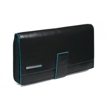 Портмоне Piquadro Blue Square женское карман для монет на молнии