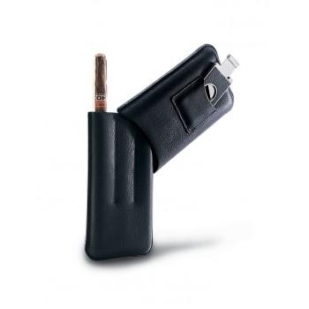 Чехол для сигар Piquadro MODUS/Black Чехол для трех сигар и гильотины  AC948MO_N