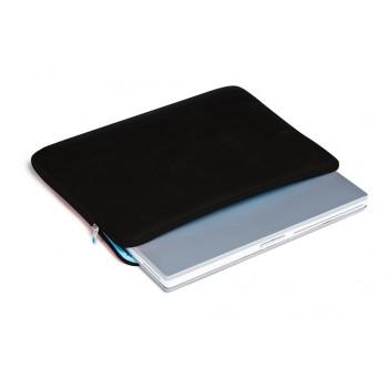 Чехол Piquadro TECA-TECH/Black д/ноутбука 15 неопрен+кожа  AC1768TTP_N