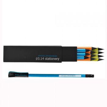 Коробка Piquadro STATIONERY/Color с 12 графит. карандашами HB с ластиком WR2289P3_ABV