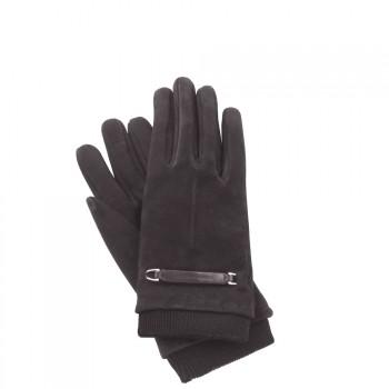 Перчатки Piquadro Guanti L Замш. муж. с нейлон. вставкой